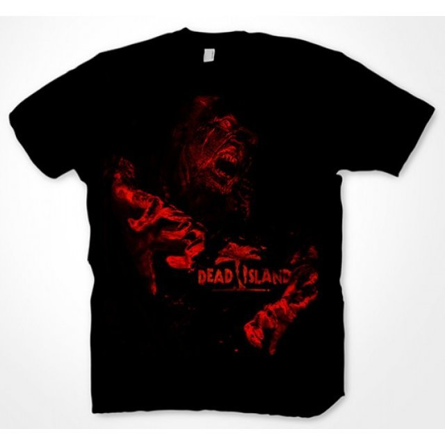Dead Island T-Shirt: Red Zombie (XL Size)