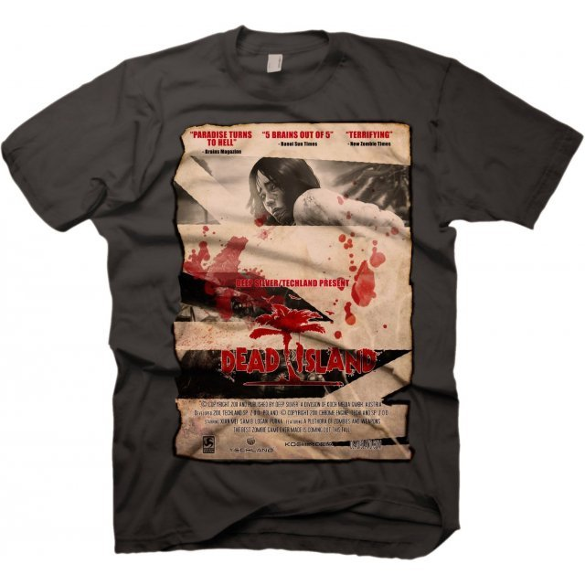 Dead Island T-Shirt: Vintage Poster (S Size)