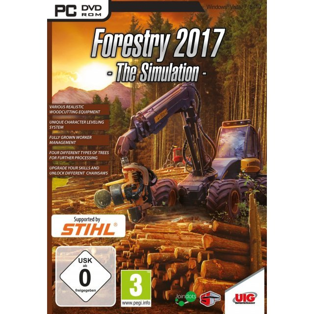 Forestry 2017: The Simulation (DVD-ROM)