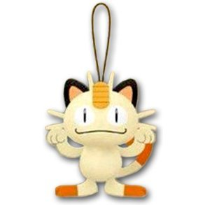 Pokemon XY & Z Mascot Plush: Meowth