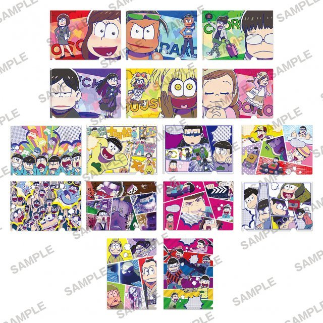 Osomatsu-san Petit Clear File Collection Vol. 2 (Set of 7 pieces)