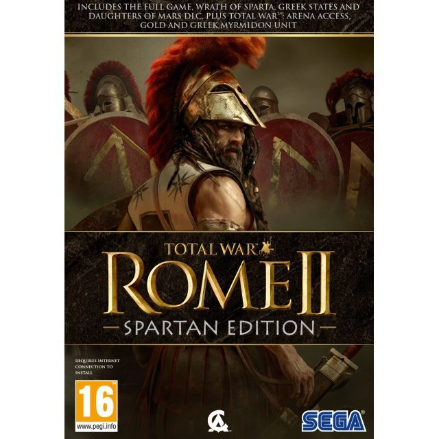 Total War: Rome II - Spartan Edition (DVD-ROM)