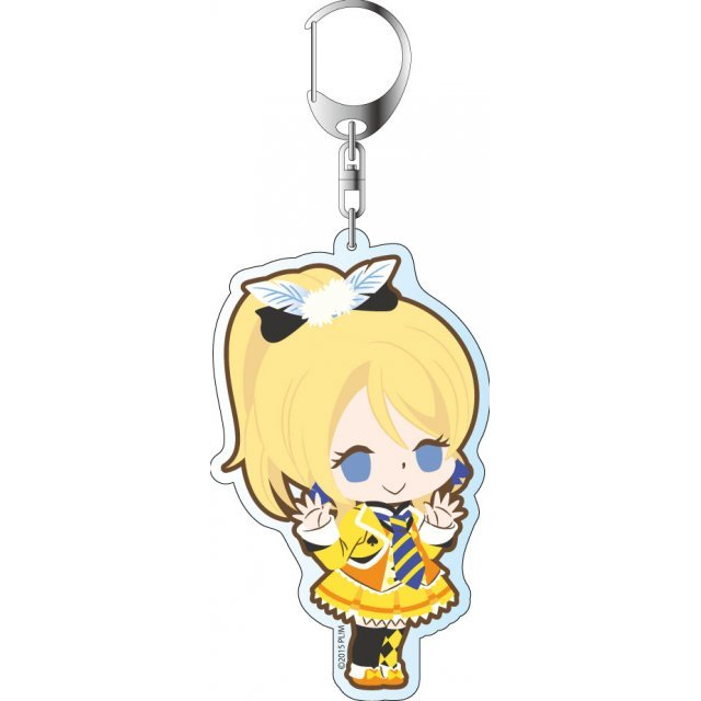 Love Live! The School Idol Movie Deka Keychain: Sunny Day Song Ver. Ayase Eri