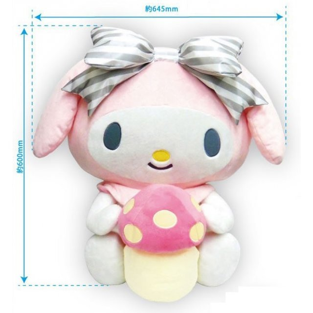 My Melody Border Ribbon Series Premium Goods Holder
