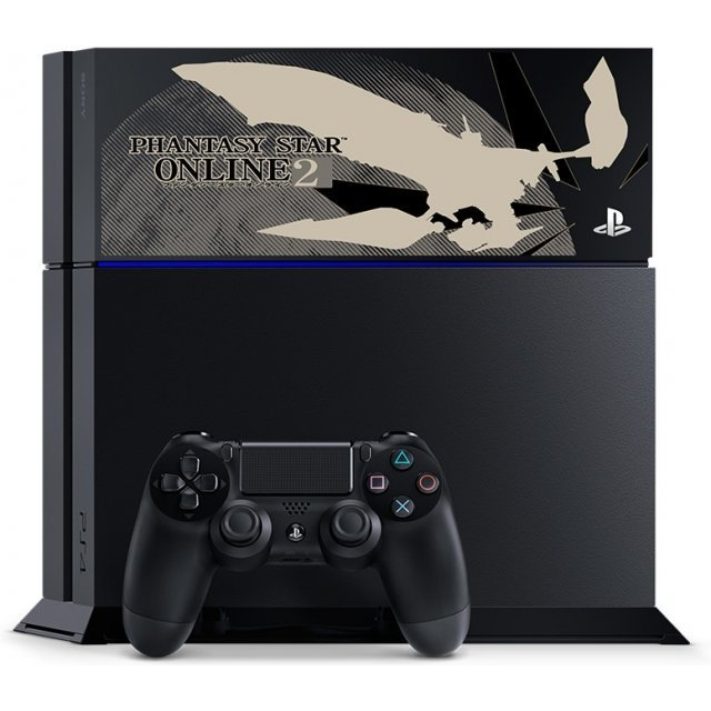 PlayStation 4 System 500GB HDD [Phantasy Star Online 2 Limited Edition] (Jet Black)