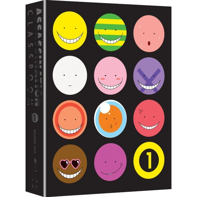 Assassination Classroom: Season 1 Part 1 (Limited Edition)