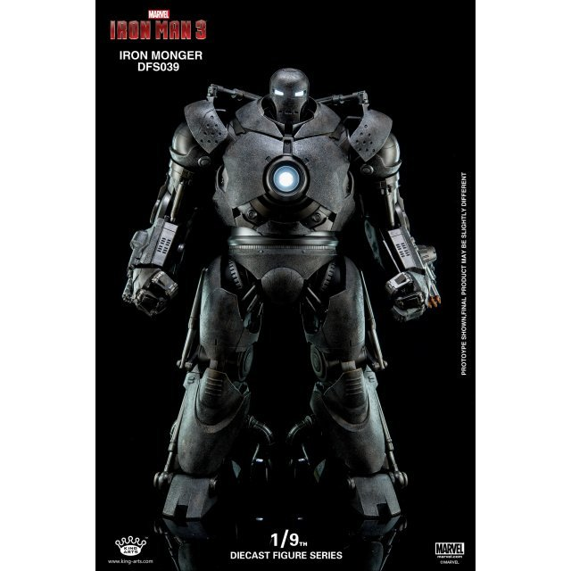 King Arts Iron Man 3 1/9 Diecast Figure Series: Iron Monger