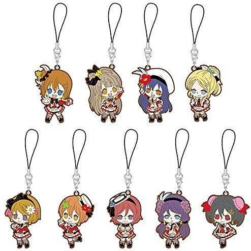 Love Live! Rubber Strap Sore wa Bokutachi no Kiseki Ver. (Set of 9 pieces)