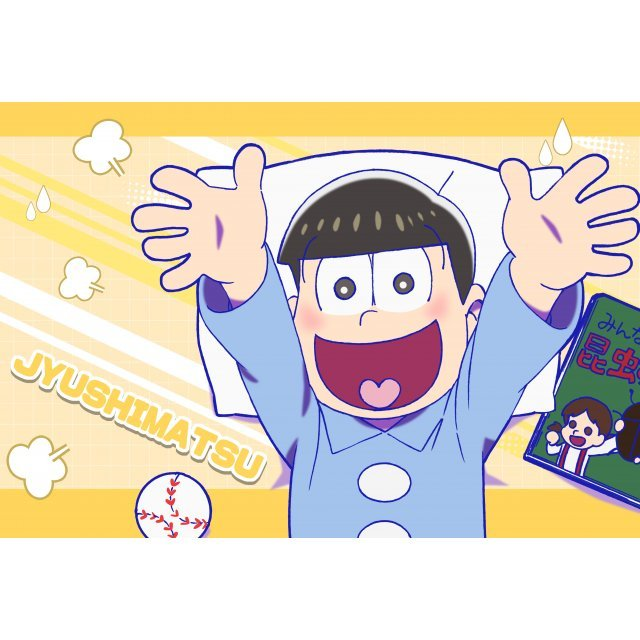 Osomatsu-san Original Illustration Pillow Case: Jyuhimatsu