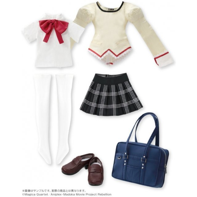 Puella Magi Madoka Magica the Movie New Feature Rebellion 1/3 Character Costume Series No. 006: Mitakihara Junior High School Uniform Set No. 1 Kaname Madoka