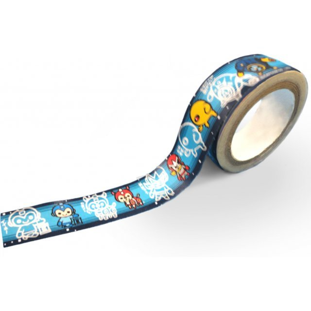CAPCOM x B-SIDE LABEL Masking Tape Mega Man