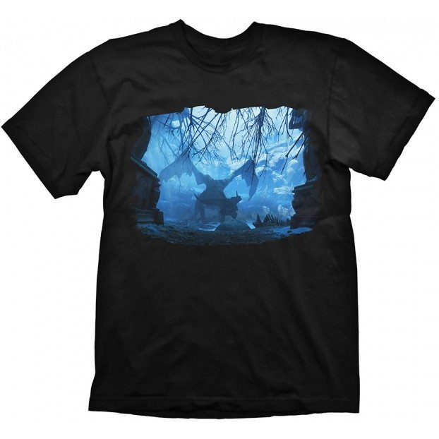Dragon Age T-Shirt: Dragon Mist (M Size)
