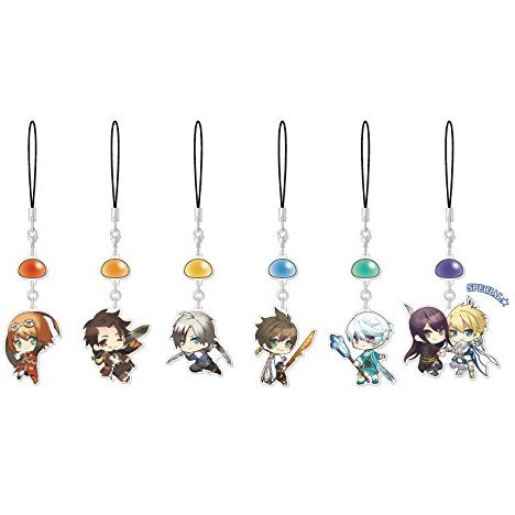 Tales of Series Yurayura Charm Collection Vol. 2 (Set of 6 pieces)