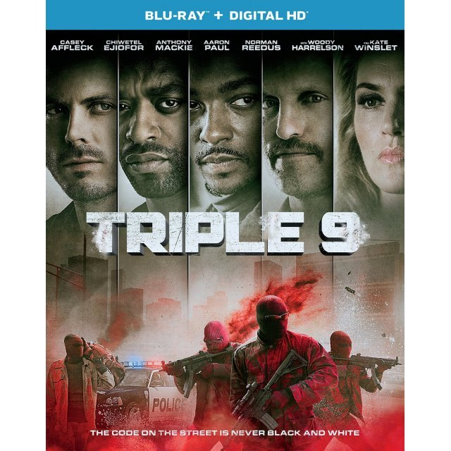 Triple 9 [Blu-ray+Digital HD]