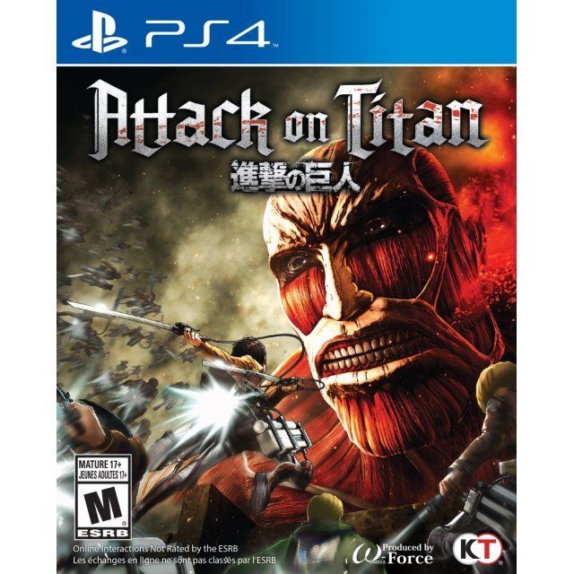 Attack on Titan PS4 US