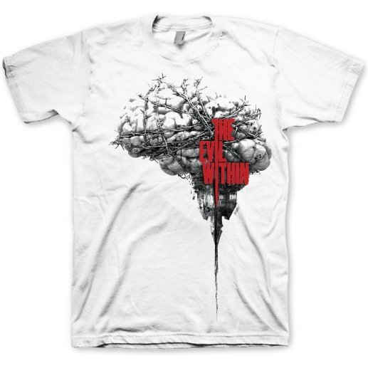 The Evil Within T-Shirt Brain (L Size)