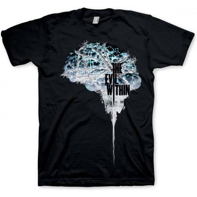 The Evil Within T-Shirt Brain Negative (XXL Size)