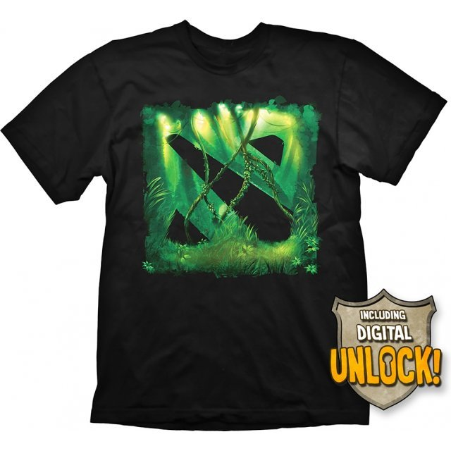 DOTA 2 T-Shirt: Jungle (L Size)