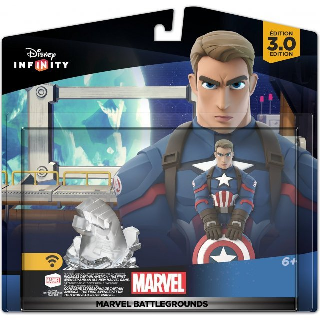 Disney Infinity Play Set (3.0 Edition): Marvel Battlegrounds