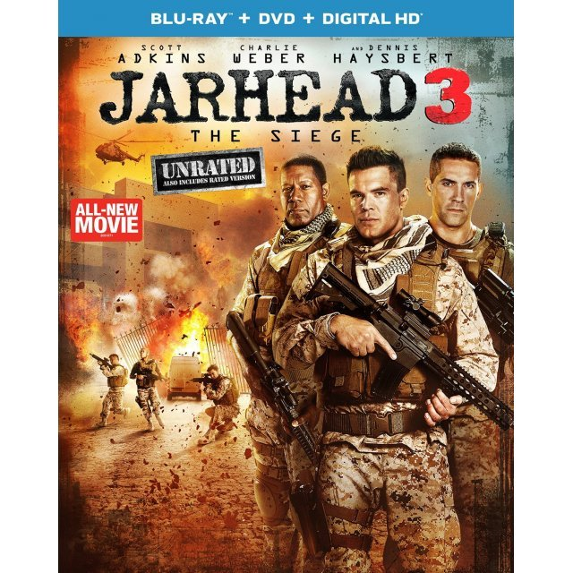Jarhead 3: The Siege [Blu-ray+DVD+Digital HD]