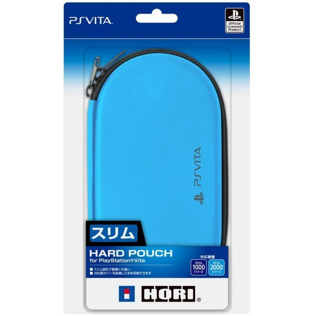 New Hard Pouch for Playstation Vita (Aqua Blue)