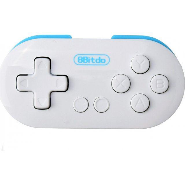 8Bitdo Zero Bluetooth GamePad (White x Blue)