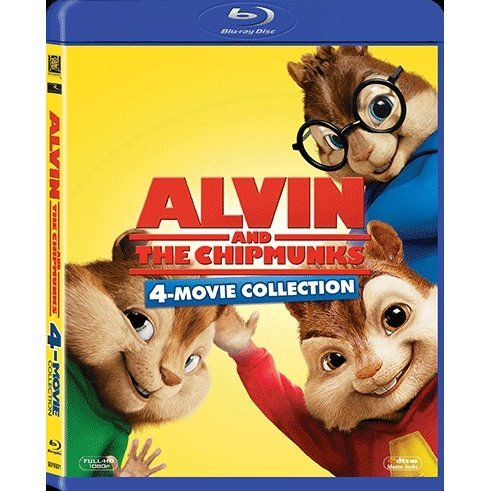 Alvin And The Chipmunks 4-Movie Collection [Blu-ray Boxset]