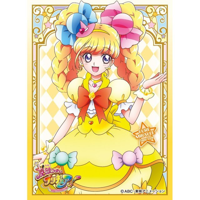 Maho Girls PreCure! Character Sleeve: Cure Miracle Topaz Style