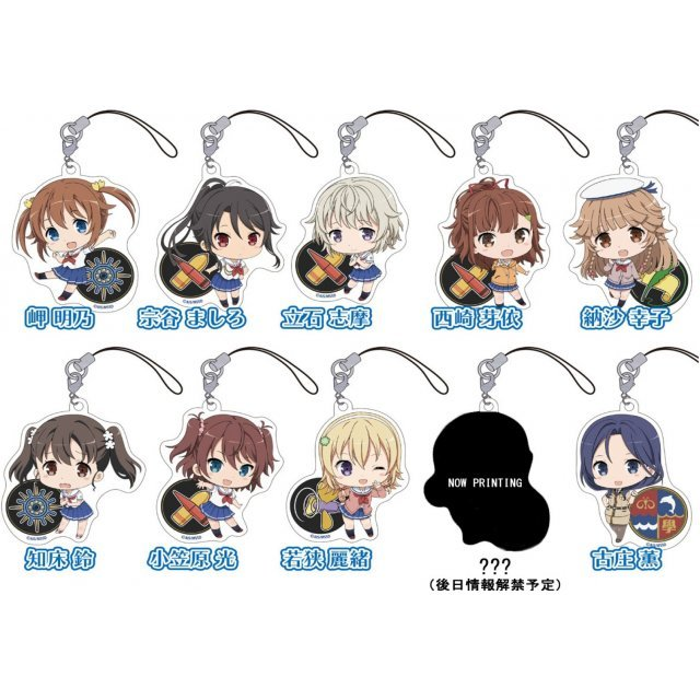 High School Fleet Petitkko Trading Acrylic Strap (Set of 10 pieces)
