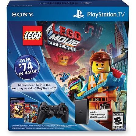 PlayStation TV Bundle (with LEGO Movie and Sly Cooper)