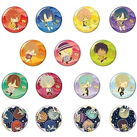 Uta no Prince-sama Maji Love Revolutions Decokira Badge Collection: Relax Time Ver. (Set of 20 pieces)