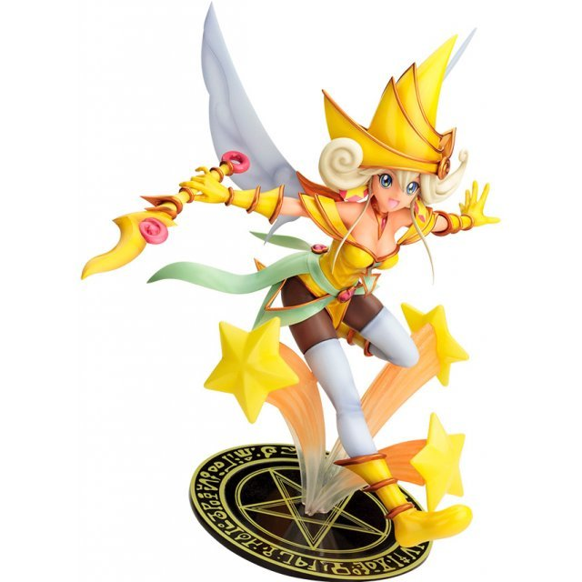 Yu-Gi-Oh! The Movie The Dark Side of Dimensions 1/7 Scale Figure: Lemon Magician Girl Movie Ver.