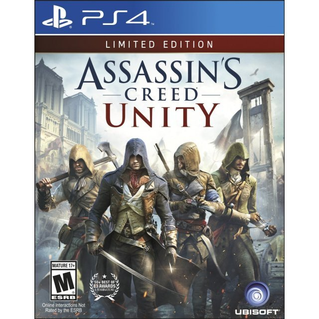 Assassin S Creed Unity Limited Edition