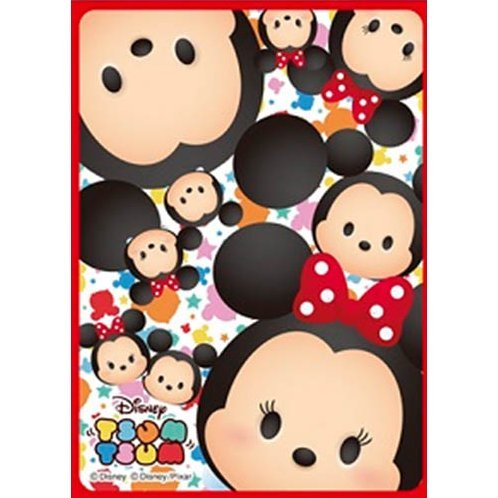 Disney Tsum Tsum Sleeve Collection Mat Series No. MT189: Mickey & Minnie