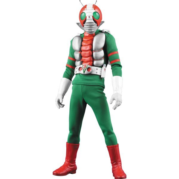 Real Action Heroes No. 756 Kamen Rider V3 1/6 Scale Action Figure: Kamen Rider V3 Renewal Ver. (Re-run)