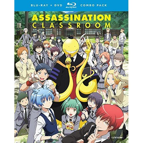 Asssassination Classroom: Season One Part One [Blu-ray+DVD]