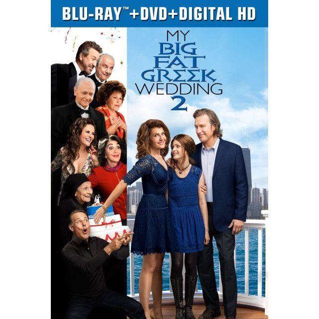 My Big Fat Greek Wedding 2 [Blu-ray+DVD+Digital HD]