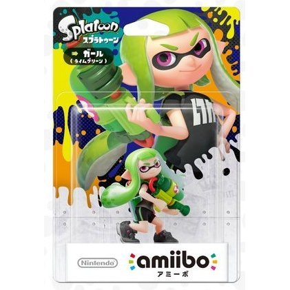 amiibo Splatoon Series Figure (Girl Lime Green)