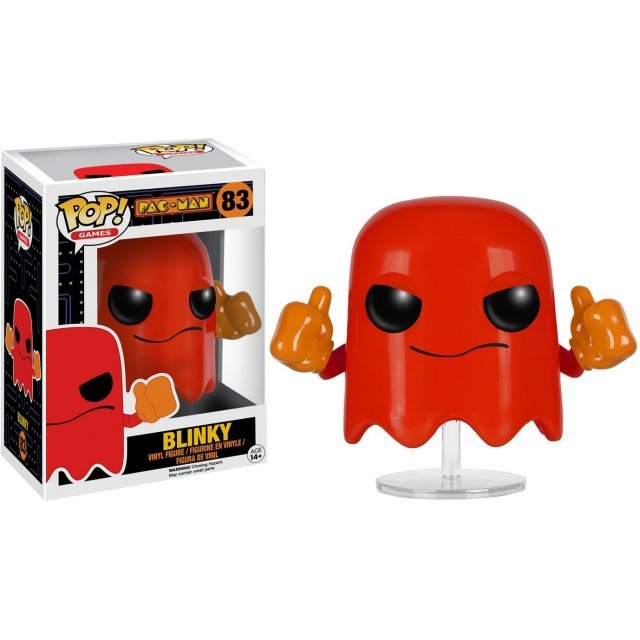 Funko Pop! Games Pac-Man: Blinky