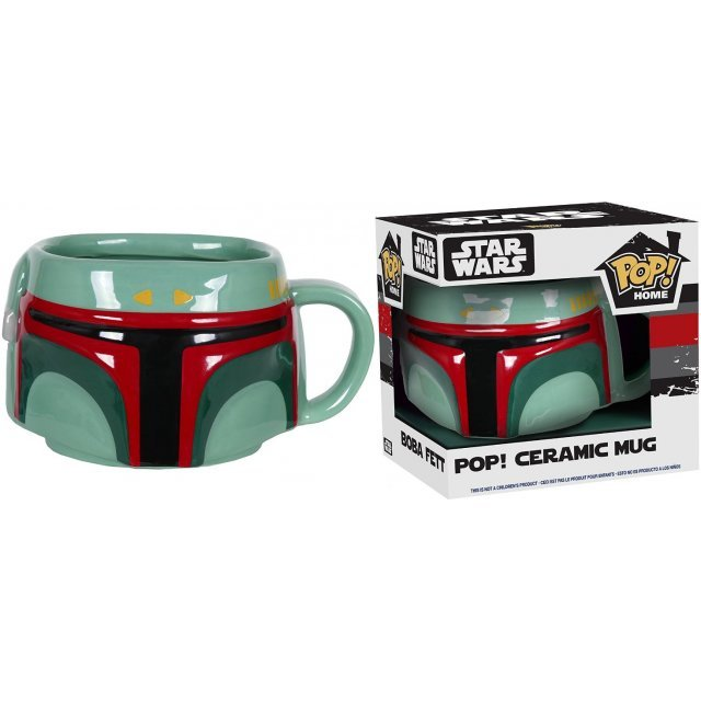 Funko Pop! Home Star Wars Mug: Boba Fett
