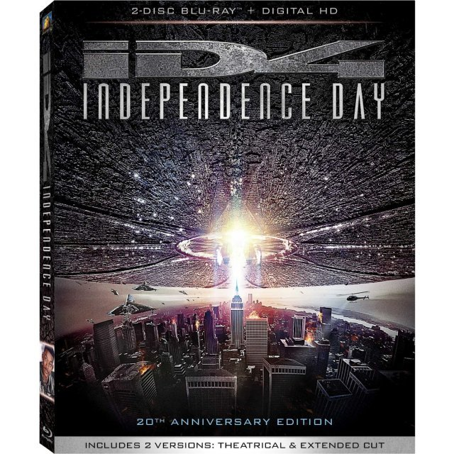 Independence Day (20th Anniversary) [Blu-ray+Digital HD]