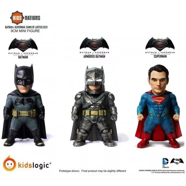 Kids Nations Batman v Superman: Dawn of Justice (Set of 3 pieces)