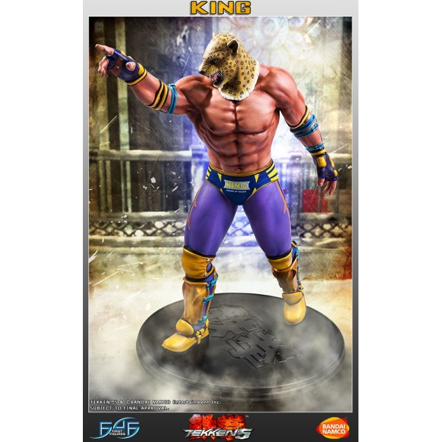 Tekken 5 1/4 Scale Statue: King II