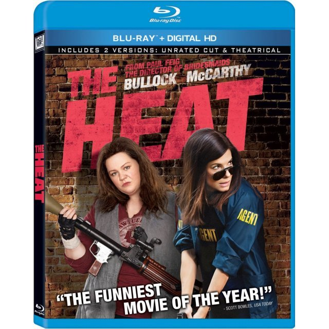 The Heat (Extended Cut+Theatrical) [Blu-ray+Digital HD]