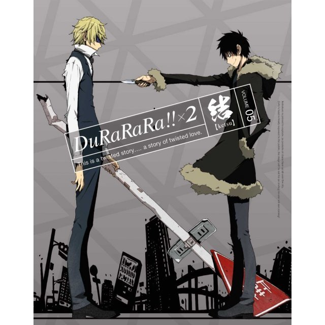 Durarara!!x2 Ketsu Vol.5 [DVD+CD Limited Edition]