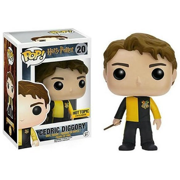 Funko Pop! Movies Harry Potter: Cedric Diggory Triwizard Tournament (Limited Edition)