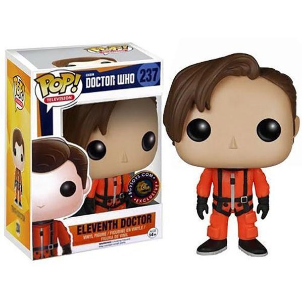 Funko Pop! Television Doctor Who: 11th Doctor Orange Spacesuit (Exclusive)