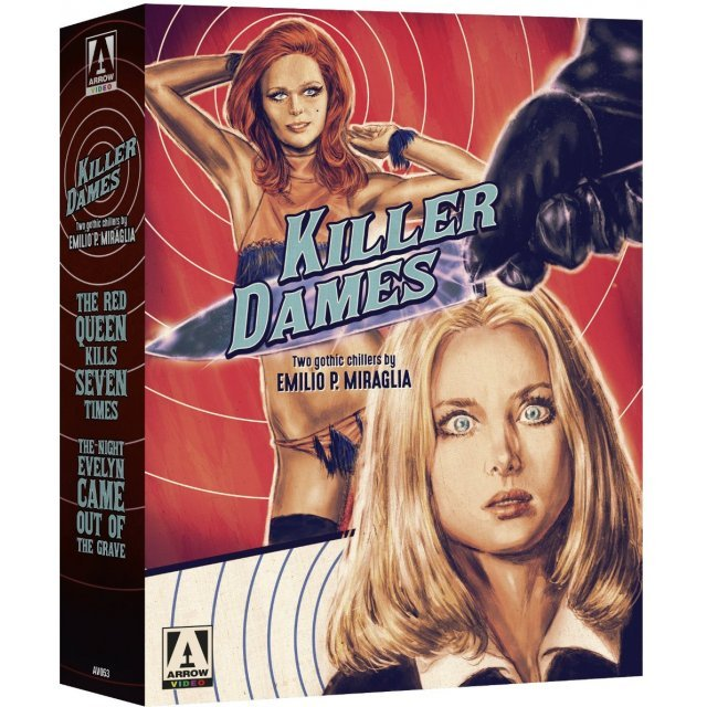 Killer Dames - Two Gothic Chillers by Emilio P. Miraglia [Limited Edition of 3000]