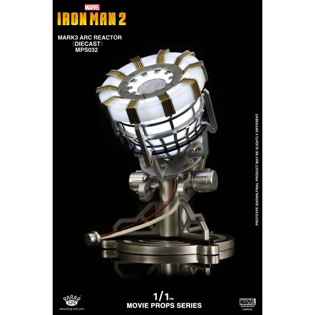 King Arts 1/1 Movie Props Series Iron Man 2: Iron Man Reactor Mark III Arc Reactor