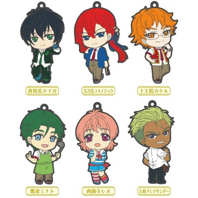 King of Prism Trading Rubber Strap 2nd Stage (Set of 6 pieces)